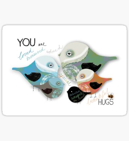 You are Loved Affirmation Sticker