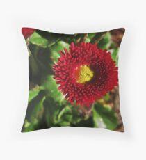 A Spot Of Red Throw Pillow
