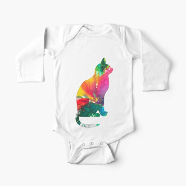 Chat E-16 Body manches longues