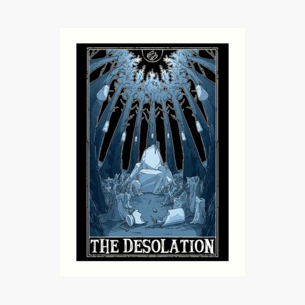 """The Desolation """"Tarotesque"""" (Dark) Art Print"""