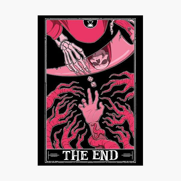 """The End """"Tarotesque"""" (Dark) Photographic Print"""