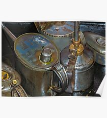 Oil Cans Poster