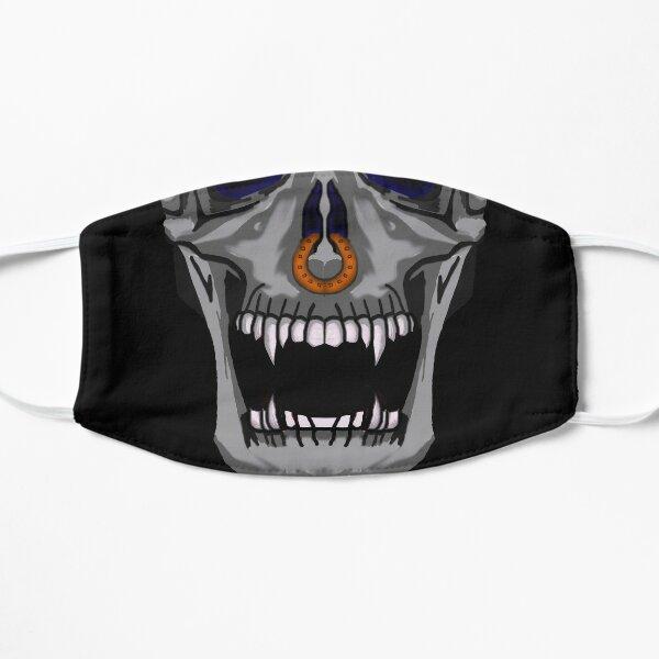 Nose Pierced Skull Face Mask Flat Mask