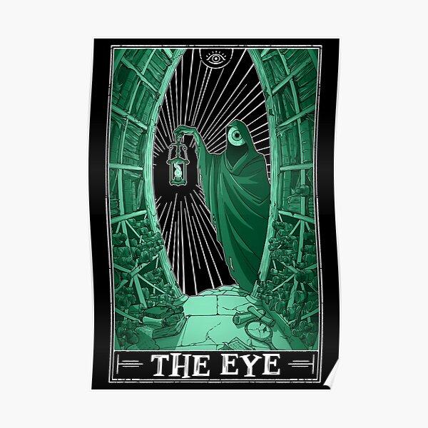 """The Eye """"Tarotesque"""" (Dark) Poster"""