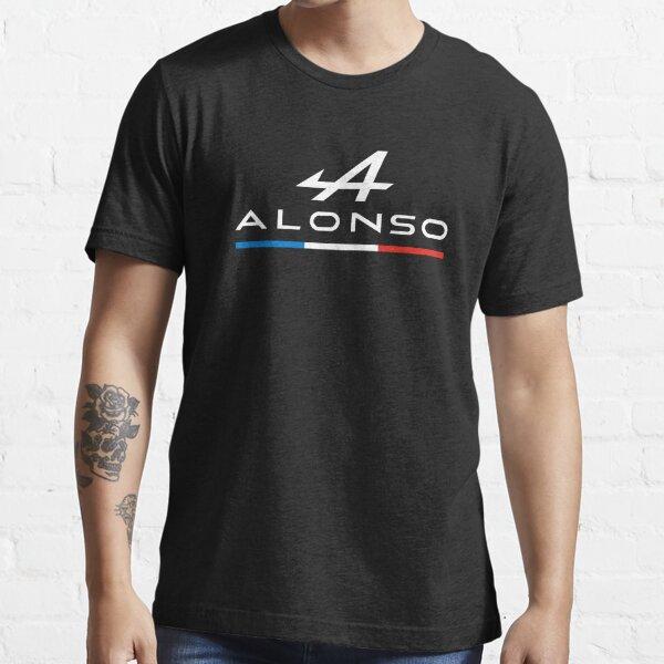 Logotipo de Fernando Alonso Alpine - F1 2021 (Tricolor) Camiseta esencial