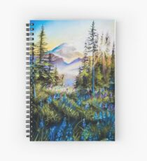 Pastel Mountains Spiral Notebook