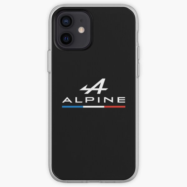 Alpine F1 Tricolore - F1 2021 (Noir) Coque souple iPhone