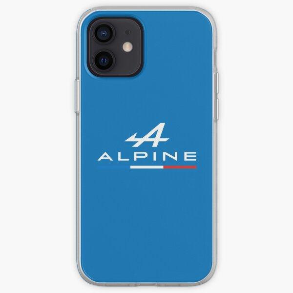 Alpine F1 Tricolore - F1 2021 (Bleu) Coque souple iPhone