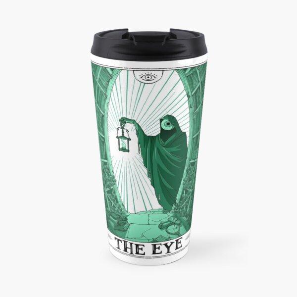 """The Eye """"Tarotesque"""" (Light) Travel Mug"""