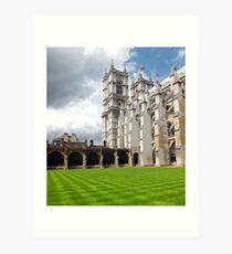 Westminster Abbey Art Print