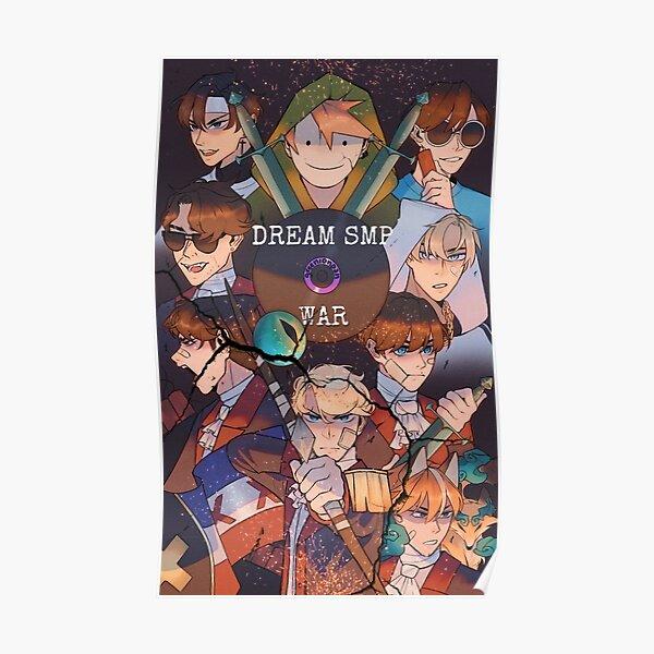 Dream Smp War Poster