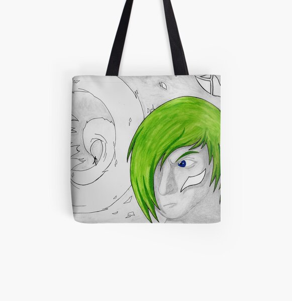 Shaye Vs. Zeal: Shards of Deceit All Over Print Tote Bag