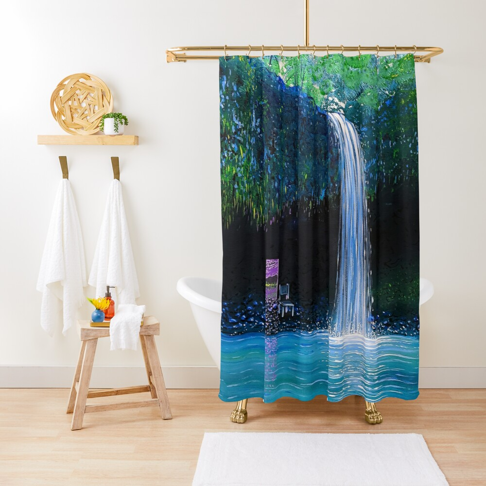 The Spot Shower Curtain