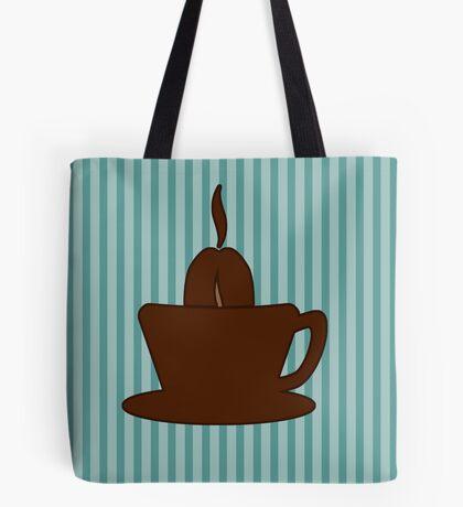 Coffee Cup VRS2 Tote Bag