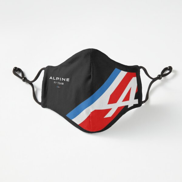 Alpine F1 Logo Mask 2021 Fitted 3-Layer