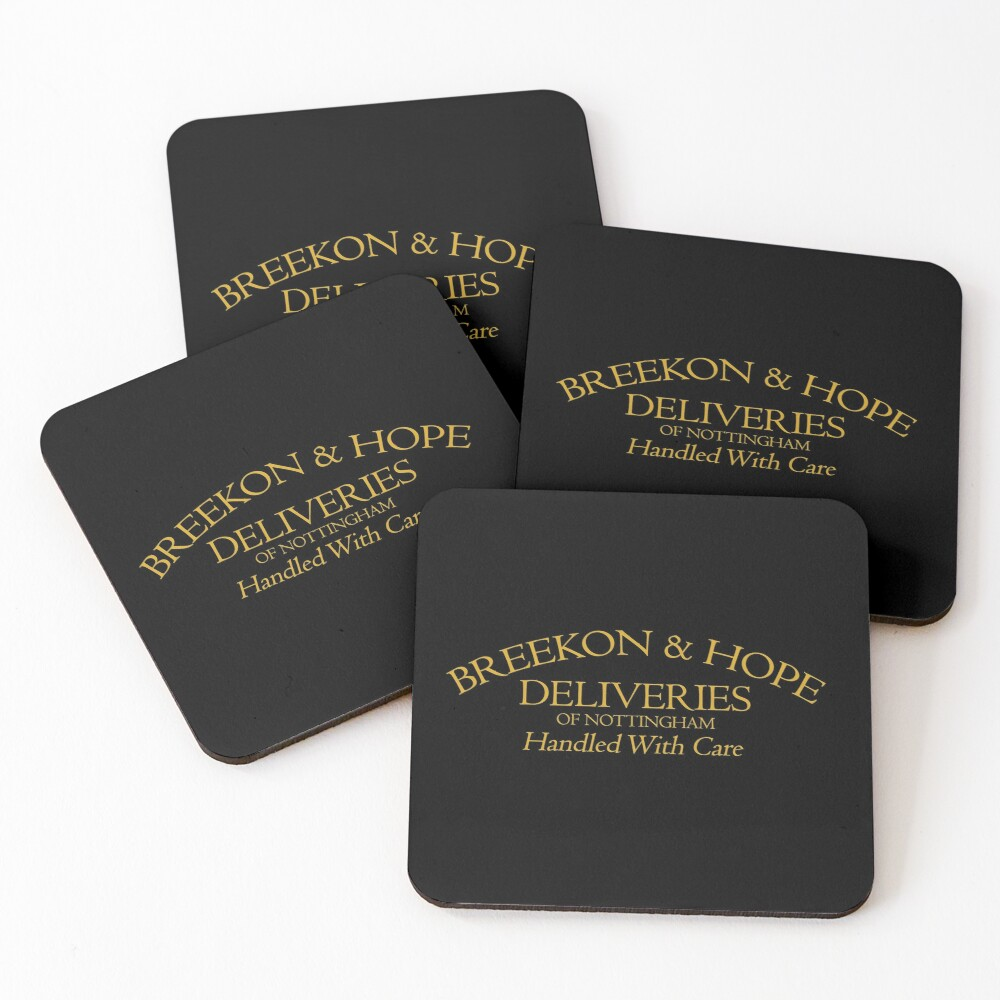 Breekon & Hope Deliveries Coasters (Set of 4)