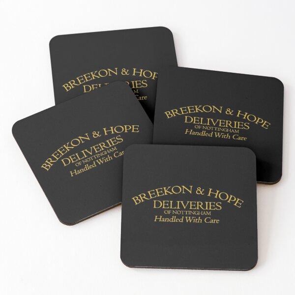 Breekon & Hope Deliveries Coasters (Set of 4)