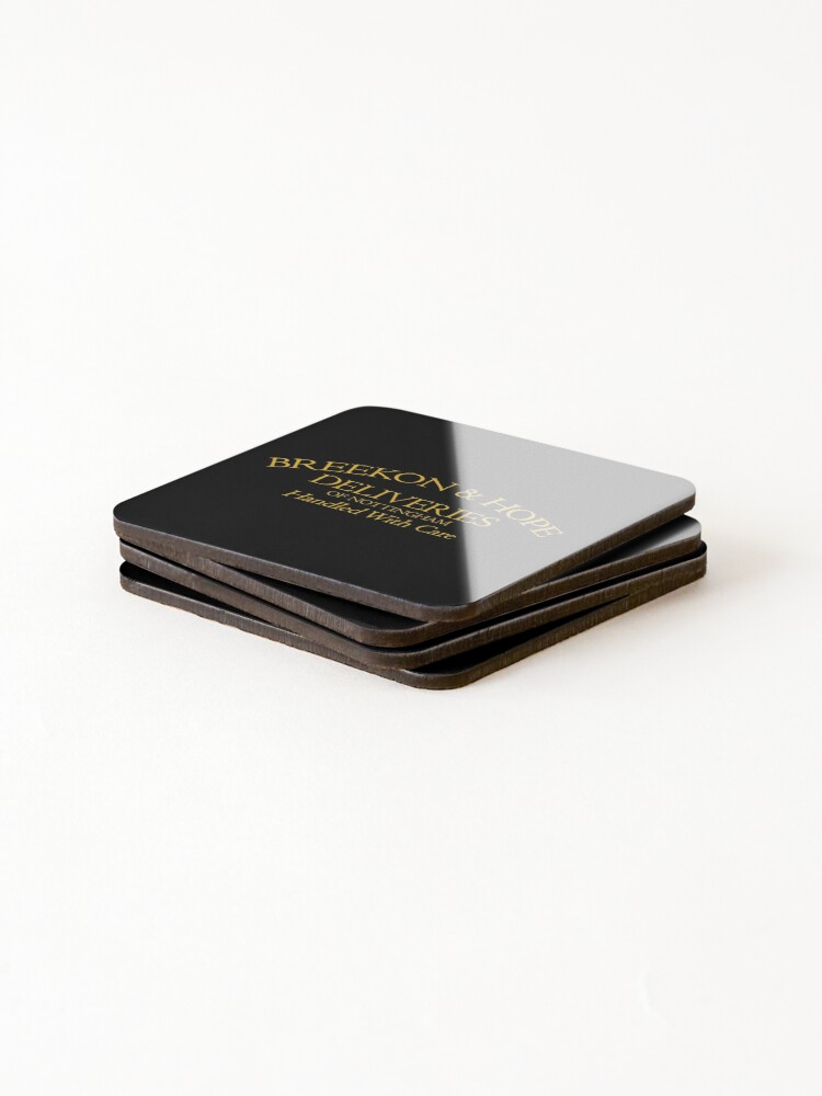 Alternate view of Breekon & Hope Deliveries Coasters (Set of 4)