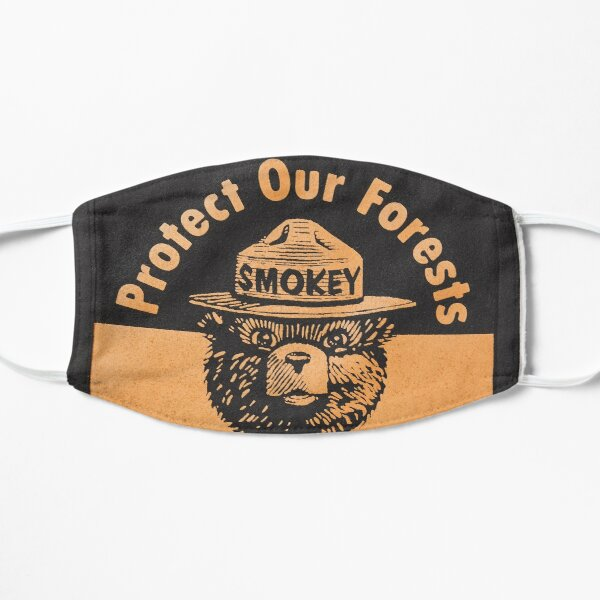 Protect Our Forests  Flat Mask