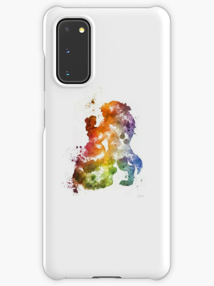 Splatter peinture La Belle et la Bête | Coque et skin adhésive Samsung Galaxy