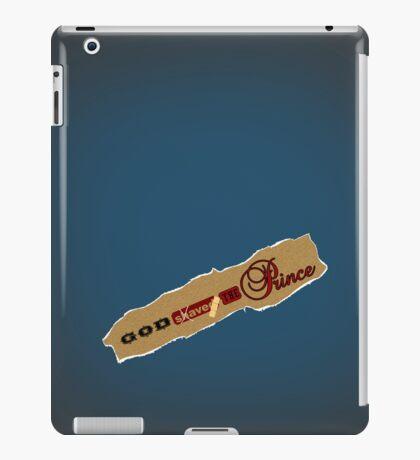 God shaved the Prince VRS2 iPad Case/Skin