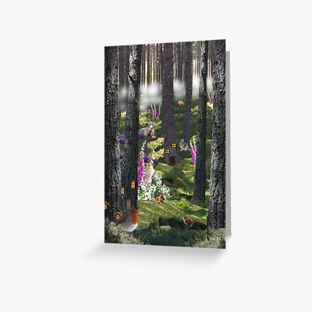 Summer Mist - Blank Greeting Card and Gift Items Greeting Card