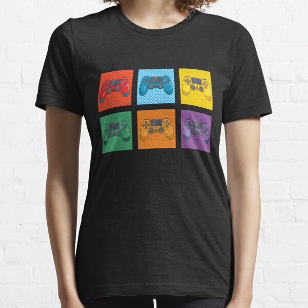 Pop Art Video Game Controllers Essential T-Shirt
