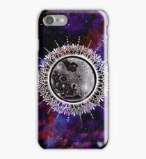 Galaxy Moon Mandala iPhone Case/Skin