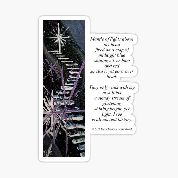 December Night Sticker