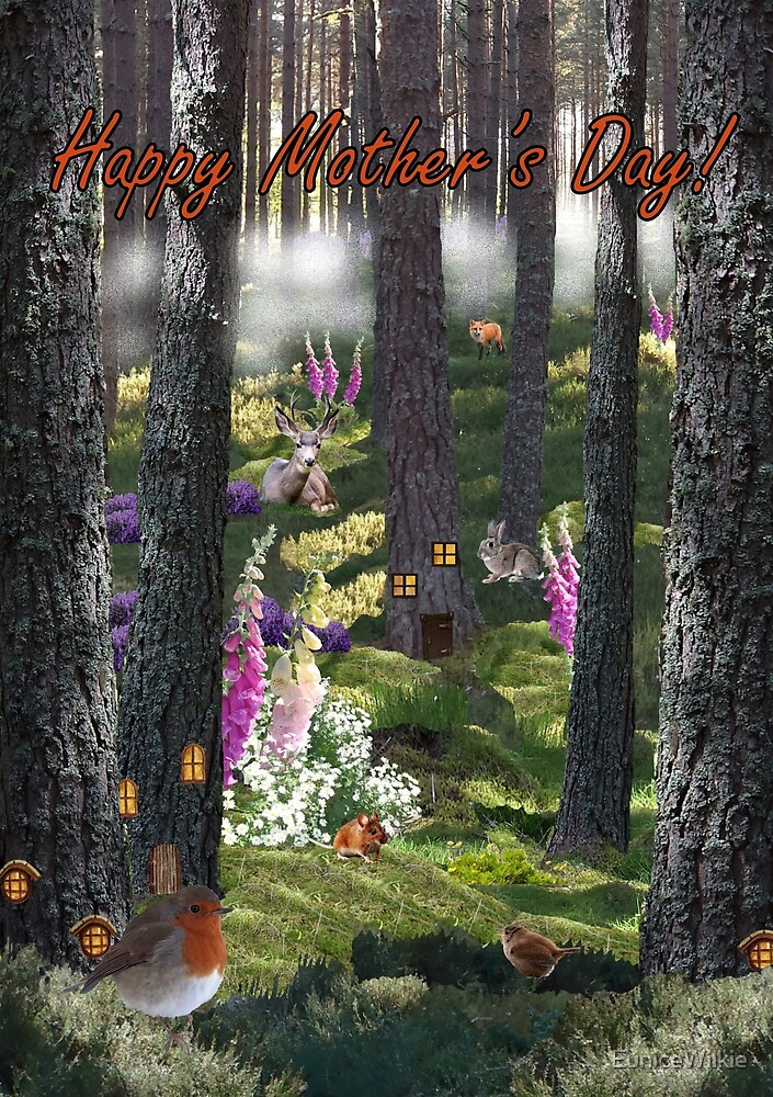 Summer Mist - Mother's Day Card by EuniceWilkie