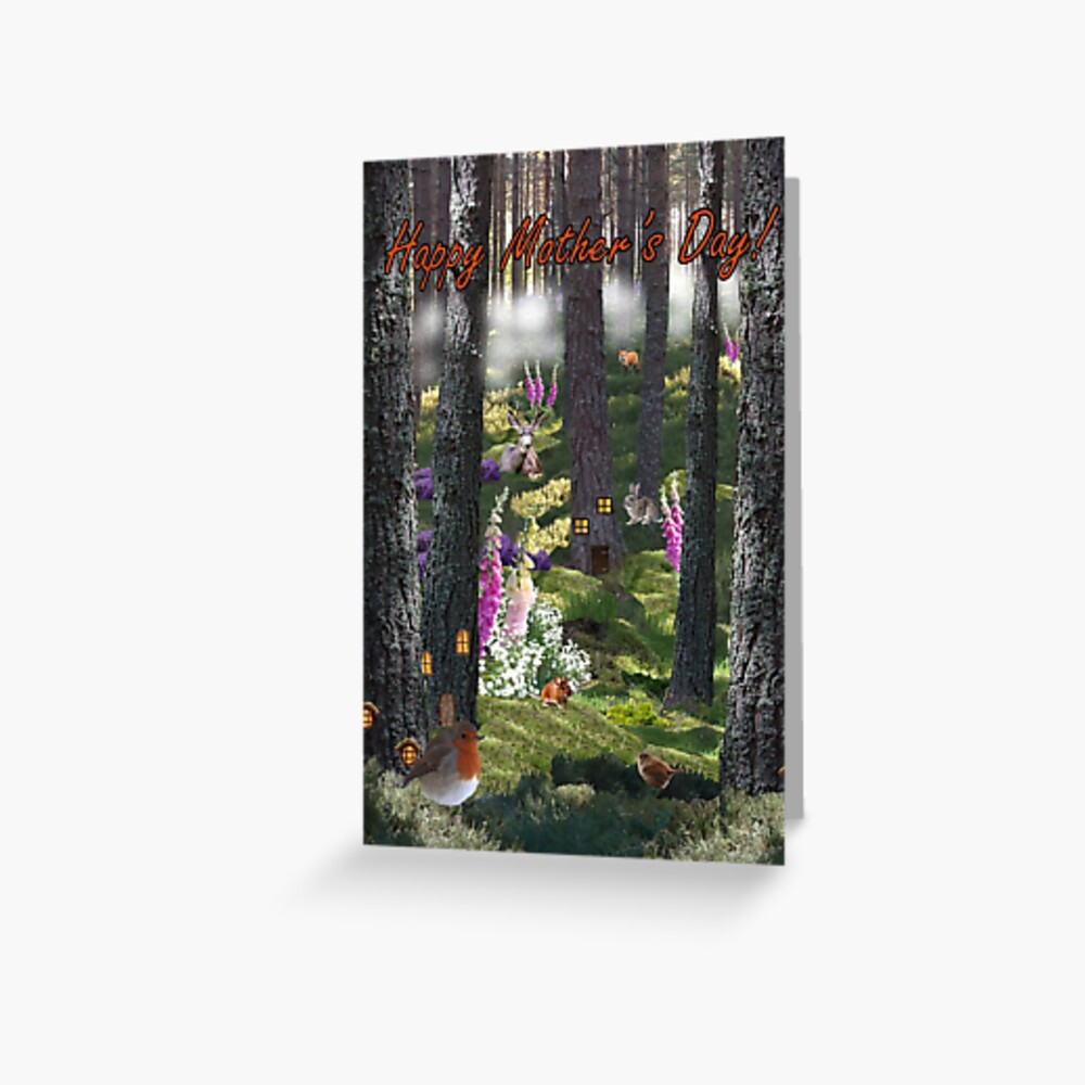 Summer Mist - Mother's Day Card Greeting Card