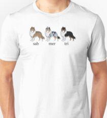 Collie Colours Unisex T-Shirt