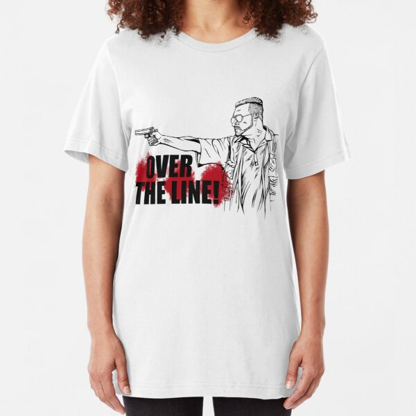 Over the Line! Slim Fit T-Shirt