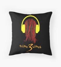 Tribe 3 Vibes Pillow  Throw Pillow