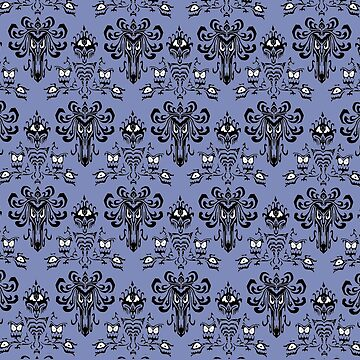 HAUNTED MANSION WALLPAPER by madteeparty