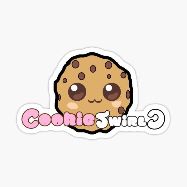 Official CookieSwirlC Merch Sticker
