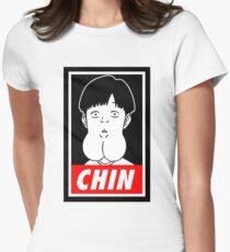 Chin Boy Women's Fitted T-Shirt