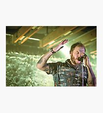 Volcano Choir - Justin Vernon Photographic Print