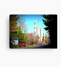 Paper Mill Canvas Print