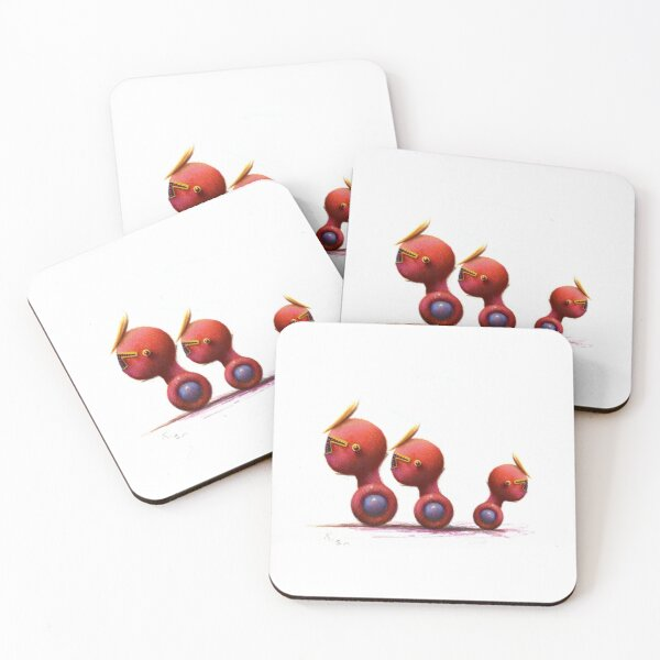 OPPOSITIONAL Coasters (Set of 4)