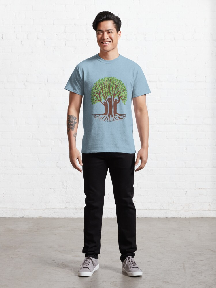 Alternate view of Oak Tree People Classic T-Shirt