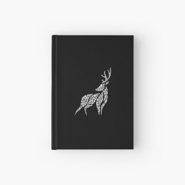 Deer (White) [Small] Hardcover Journal