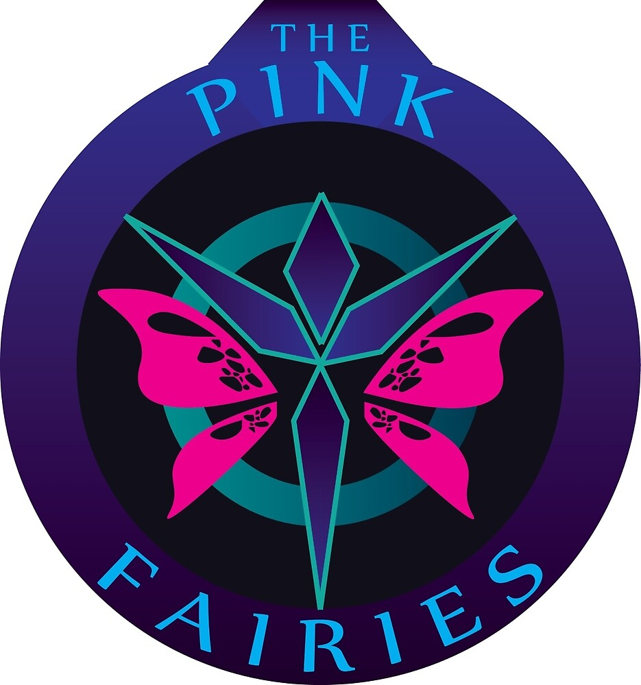 Pink Fairies Logo by Ultimastorm