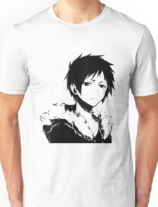Izaya black and white Unisex T-Shirt
