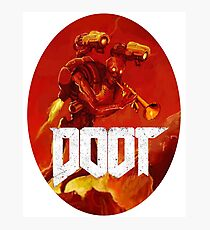 Doot Toot (Doom Shirt) Style #3 Photographic Print