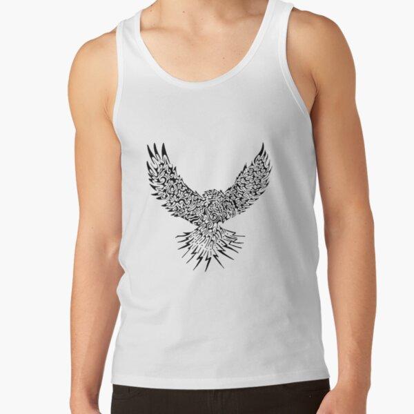 Eagle (Black) [Large] Tank Top