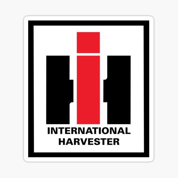 "IH - International Harvester ""Modern"" ca. 1970 Sticker"