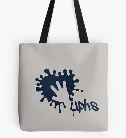 Whoops - Splash on the Hand VRS2 Tote Bag