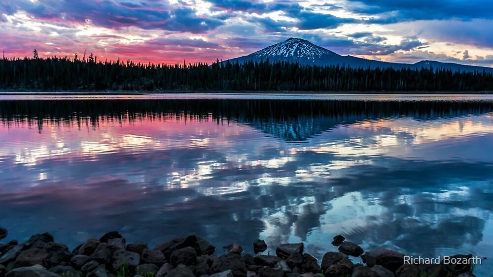 Elk Lake Sunrise 1 by Richard Bozarth