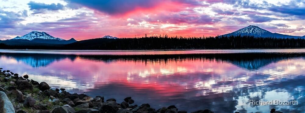 Elk Lake Sunrise 2 by Richard Bozarth
